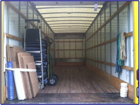 Packed Goods - Local Movers, Moving Company